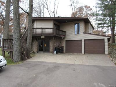 Lapeer Single Family Home For Sale: 4390 Phillips Road