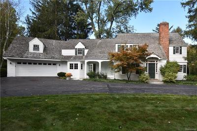 Franklin Single Family Home For Sale: 26450 Carol Ave. Ave