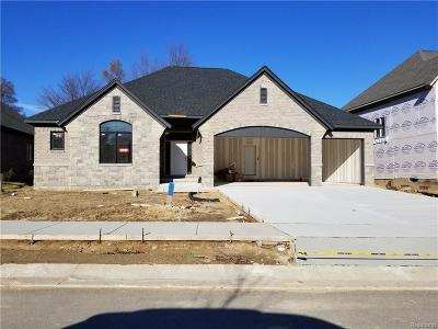 Shelby Twp Single Family Home For Sale: 2065 Westridge Drive Dr
