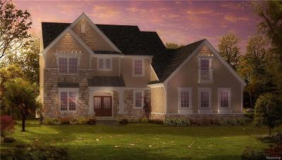 Clarkston Single Family Home For Sale: 6523 Cambridge Cir