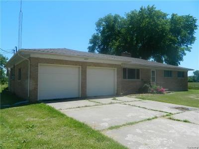 St. Clair Single Family Home For Sale: 3930 North Rd