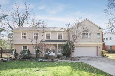 Bloomfield Hills Single Family Home For Sale: 459 Kendry