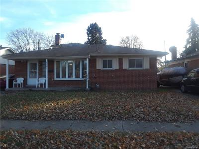 Madison Heights Single Family Home For Sale: 1282 Beaupre Ave