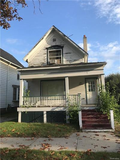 Port Huron Single Family Home For Sale: 919 Court St