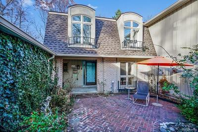 Bloomfield Hills Condo/Townhouse For Sale: 1243 Woodcrest Cir