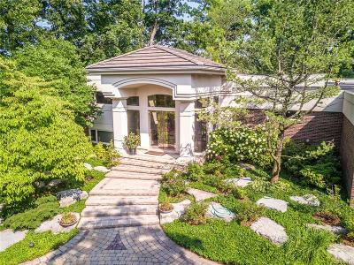 Bloomfield Hills Single Family Home For Sale: 3815 Wabeek Lake Dr W