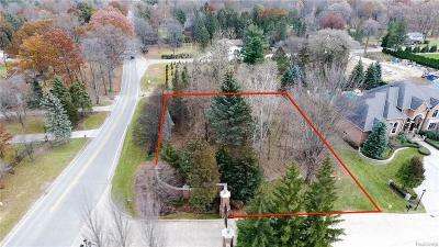 Clinton Township Residential Lots & Land For Sale: 37644 Hidden Valley Crt