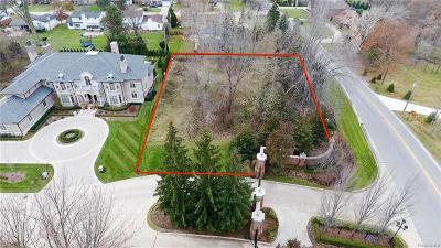 Clinton Township Residential Lots & Land For Sale: 37651 Hidden Valley Crt