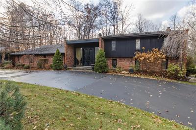 Farmington Hills Single Family Home For Sale: 31491 W Stonewood Crt