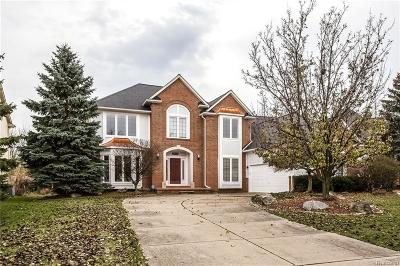 Rochester Hills Single Family Home For Sale: 3615 Aynsley Dr