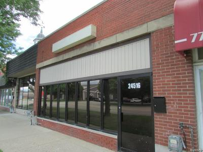 Commercial Lease For Lease: 24516 Harper Ave