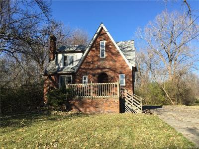Clinton Township Single Family Home For Sale: 22725 Quinn Rd