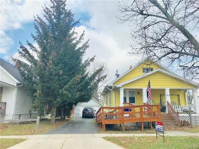 Port Huron Single Family Home For Sale: 521 14th St
