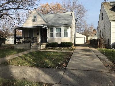 Harper Woods Single Family Home For Sale: 19349 Kingsville St