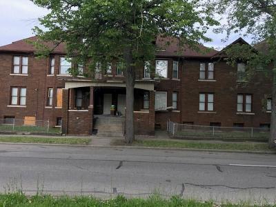 Detroit Multi Family Home For Sale: 456 Alger