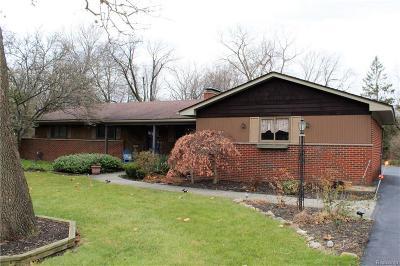 Farmington Hills Single Family Home For Sale: 29117 Aranel St