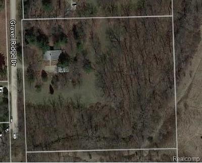 Residential Lots & Land For Sale: 1581 Gravel Ridge Dr