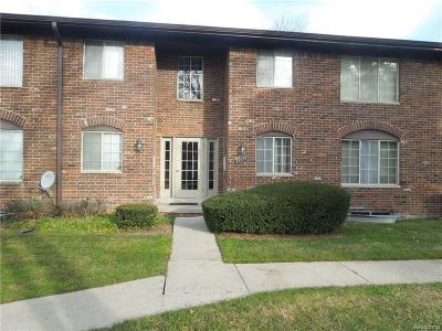 Southfield Condo/Townhouse For Sale: 19639 W Twelve Mile Rd