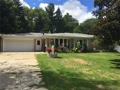 Rochester Hills Single Family Home For Sale: 626 Wilwood Rd