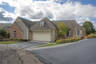 Clarkston Condo/Townhouse For Sale: 6923 S Fairways Dr