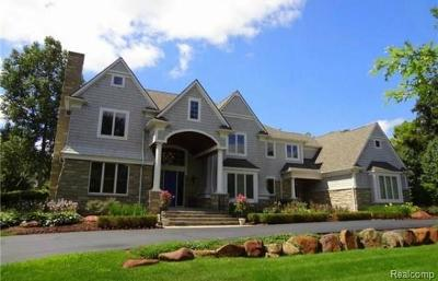 Franklin Single Family Home For Sale: 24811 Franklin Park