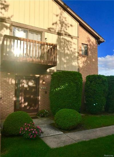 Rochester Hills Condo/Townhouse For Sale: 37 Meadow Wood Dr
