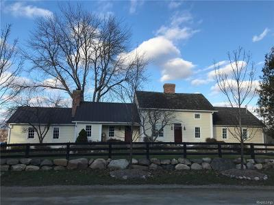 Lapeer Single Family Home For Sale: 2971 Casey Rd