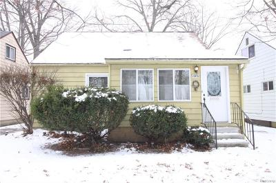 Madison Heights Single Family Home For Sale: 26432 Osmun St