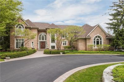 Bloomfield Hills Single Family Home For Sale: 1224 Hidden Lake Dr