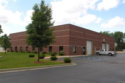 Shelby Twp Commercial Lease For Lease: 13047 Pauline