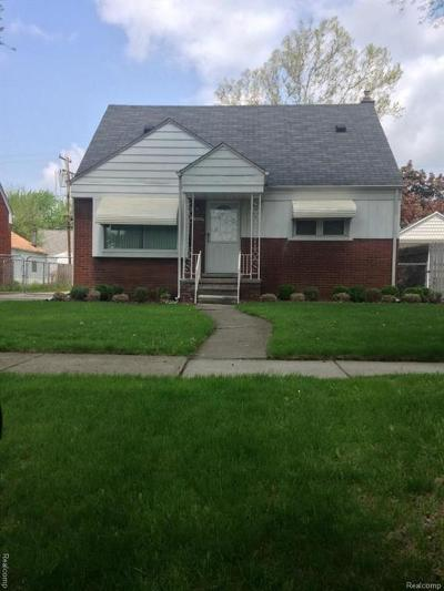 Wayne Single Family Home For Sale: 25666 Oakland Dr