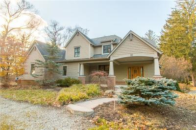 Franklin Single Family Home For Sale: 30175 Oakleaf Ln