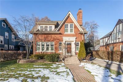Birmingham Single Family Home Pending: 831 Madison St