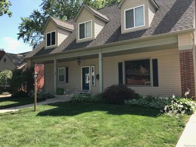Dearborn Single Family Home For Sale: 1844 Highview St