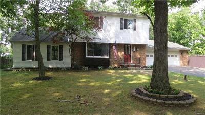 Clarkston Single Family Home For Sale: 6049 Farley Rd