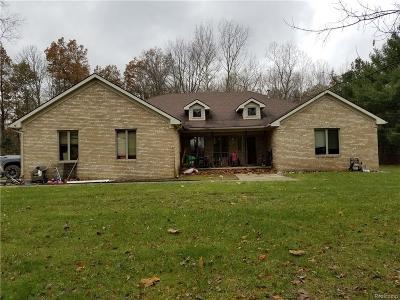 Belleville Single Family Home For Sale: 22100 Sherwood Rd
