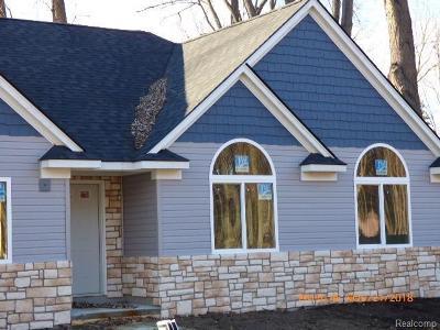 Algonac Single Family Home For Sale: Oakdale Rd