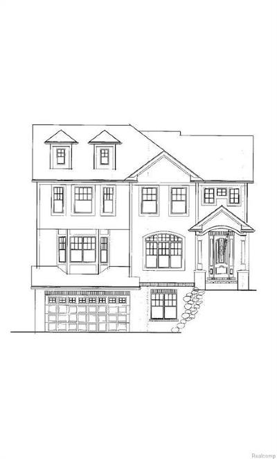 Royal Oak Single Family Home For Sale: 2835 Vinsetta (Lot B) Blvd