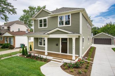 Royal Oak Single Family Home For Sale: 304 N Gainsborough Ave