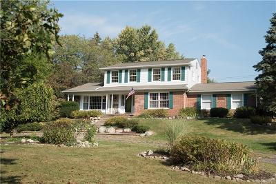 Oakland Twp Single Family Home For Sale: 3550 E Clarkston Rd
