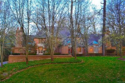 Bloomfield Hills Single Family Home For Sale: 1772 Heron Ridge