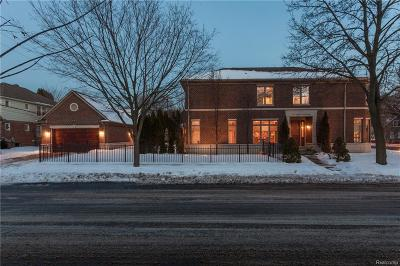 Birmingham Single Family Home For Sale: 494 W Lincoln St