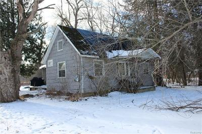 Lapeer Single Family Home For Sale: 1774 Castle Rd