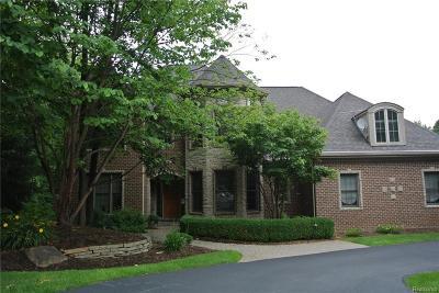 Clarkston Single Family Home For Sale: 9904 Kingston Rdg