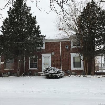 Detroit Condo/Townhouse For Sale: 16035 E 7 Mile Rd
