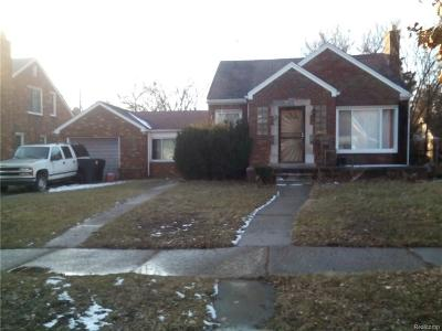 Detroit Single Family Home For Sale: 17391 Bradford