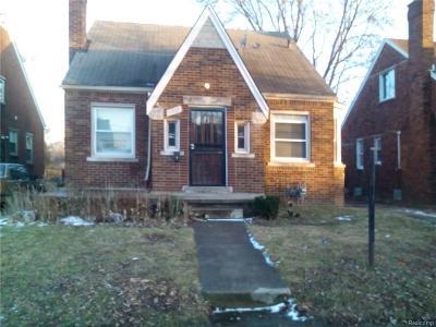 Detroit Single Family Home For Sale: 9184 Manistique