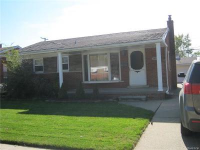 Allen Park Single Family Home For Sale: 16021 Keppen Ave
