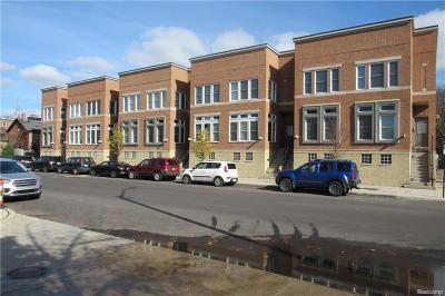 Detroit Condo/Townhouse For Sale: 4414 3rd St
