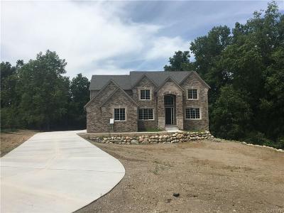 Clarkston Single Family Home For Sale: 8943 Stonewall W
